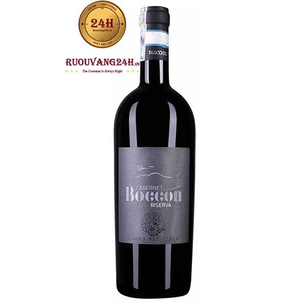 Rượu vang Boccon Cabernet Riserva