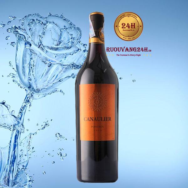 Rượu vang Canaulier Pomerol