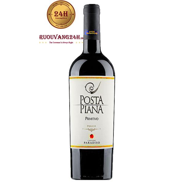 Rượu vang Cantine Paradiso Posta Piana Primitivo Puglia