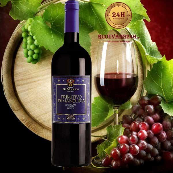 Rượu vang Cantine di Marco Riserva del Fondatore Primitivo di Manduria