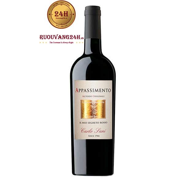 Rượu Vang Carlo Sani Ester 99 Appassimento