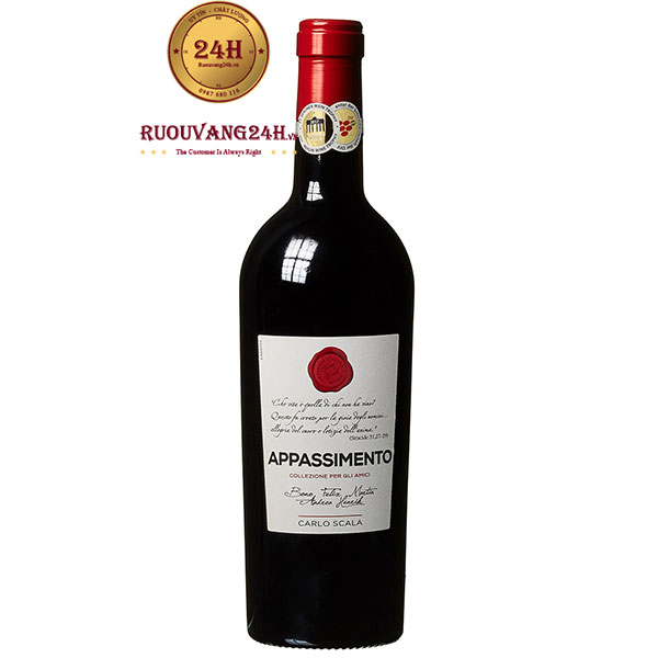 Rượu Vang Carlo Scala Appassimento