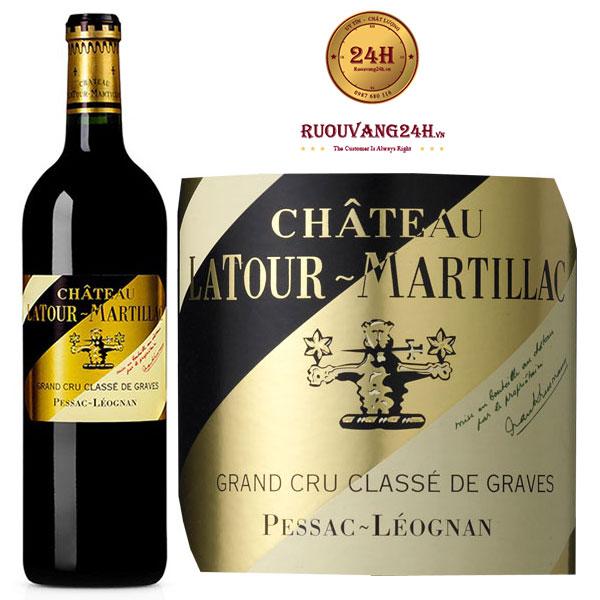 Rượu vang Château Latour - Martillac