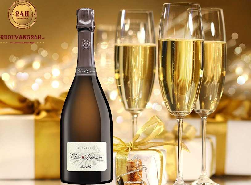 Rượu vang Champagne Clos Lanson 2006