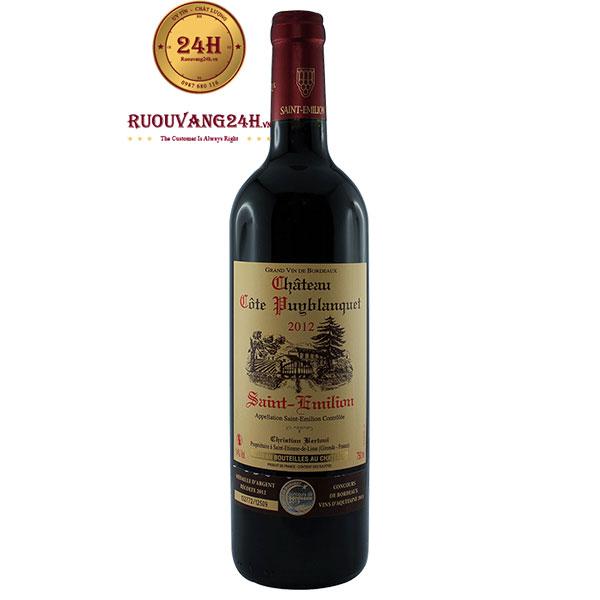 Rượu vang Chateau Cote Puyblanquet