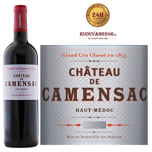 Rượu vang Chateau De Camensac