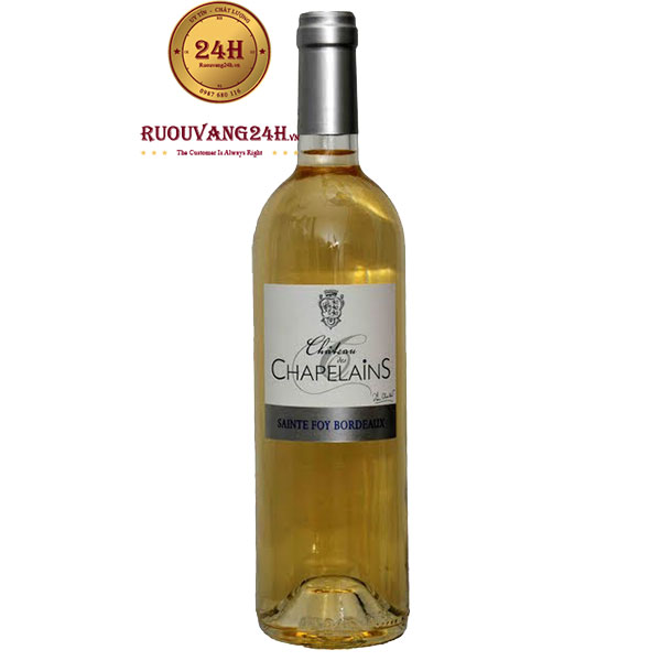Rượu vang Chateau Des Chapelains White
