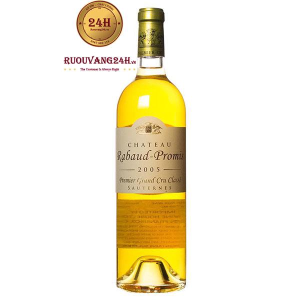 Rượu vang Chateau Rabaud Promis