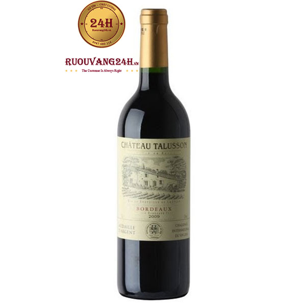Rượu vang Chateau Talusson Red