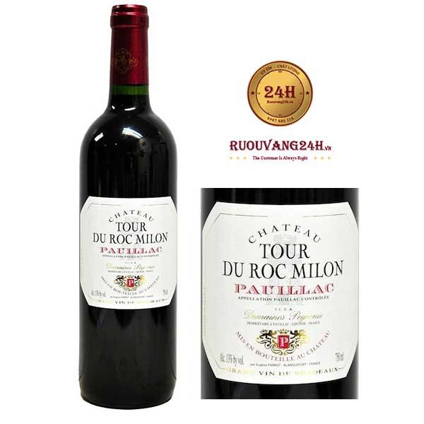 Rượu vang Chateau Tour Du Roc Milon