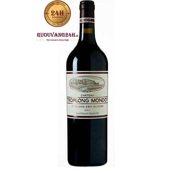 Rượu Vang Chateau Troplong Mondot