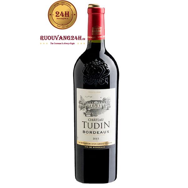 Rượu vang Chateau Tudin Bordeaux