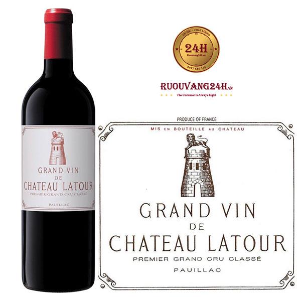 Rượu vang Chateau latour Grand Vin