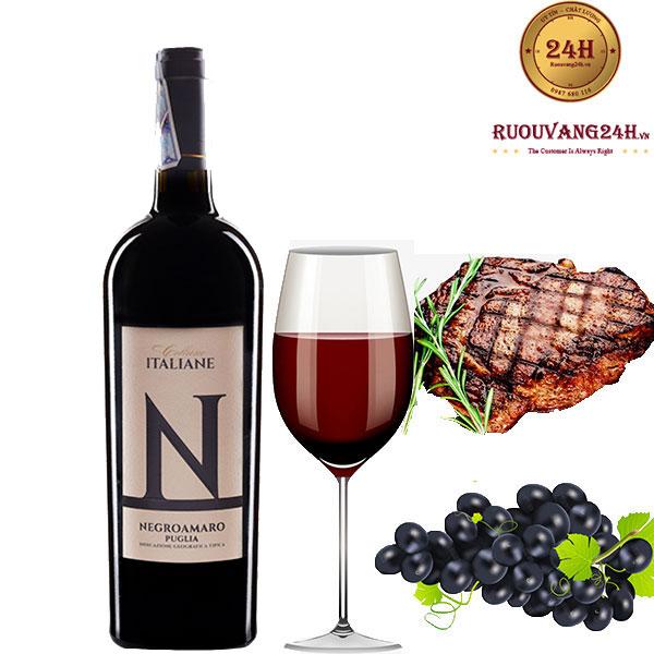 Rượu vang Collane N Negroamaro