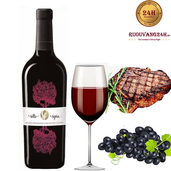 Rượu vang Collefriso Sotto Sopra