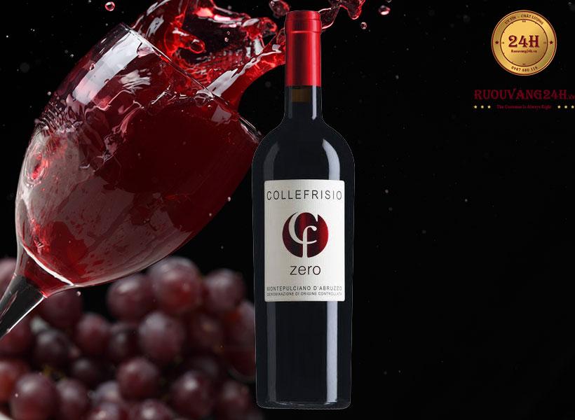 Rượu vang Collefriso Zero