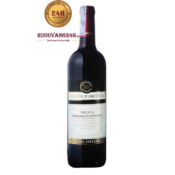 Rượu Vang Colonie D'Archelle