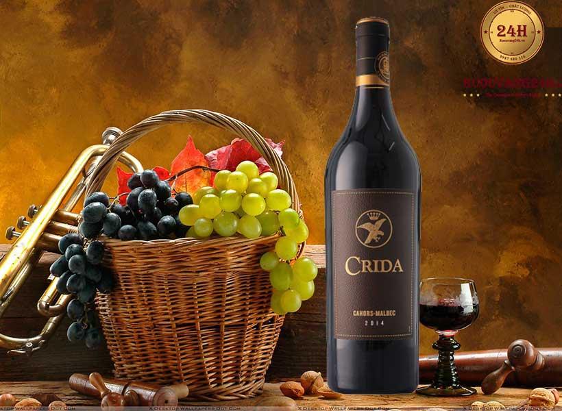 Rượu Vang Crida Cahors Malbec
