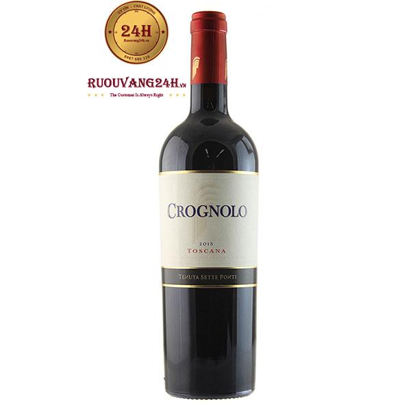 Rượu Vang Crognolo Toscana