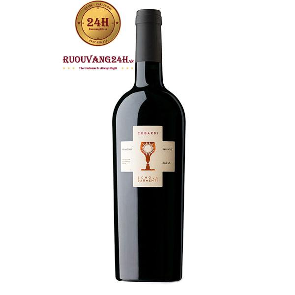 Rượu Vang CUBARDI Primitivo – Vang Chén Thánh Trắng