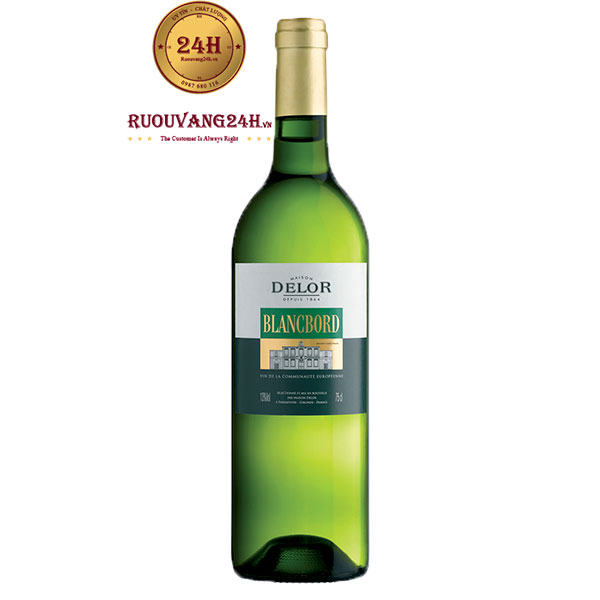 Rượu Vang Delor Bordeaux Blanc