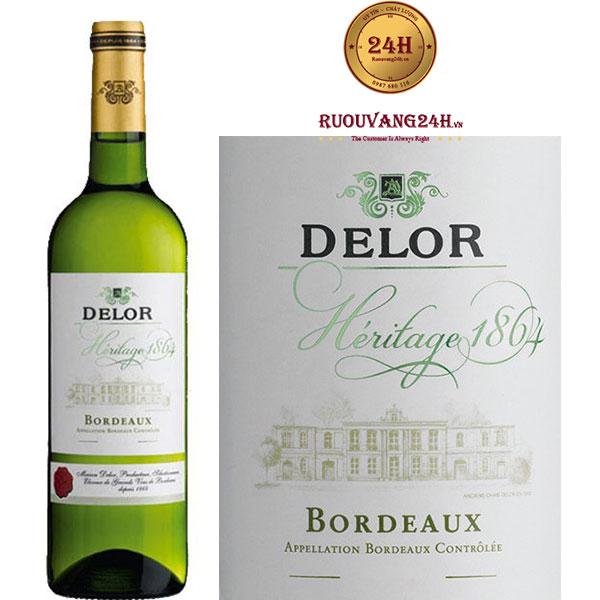 Rượu vang Delor Héritage 1864 Blanc