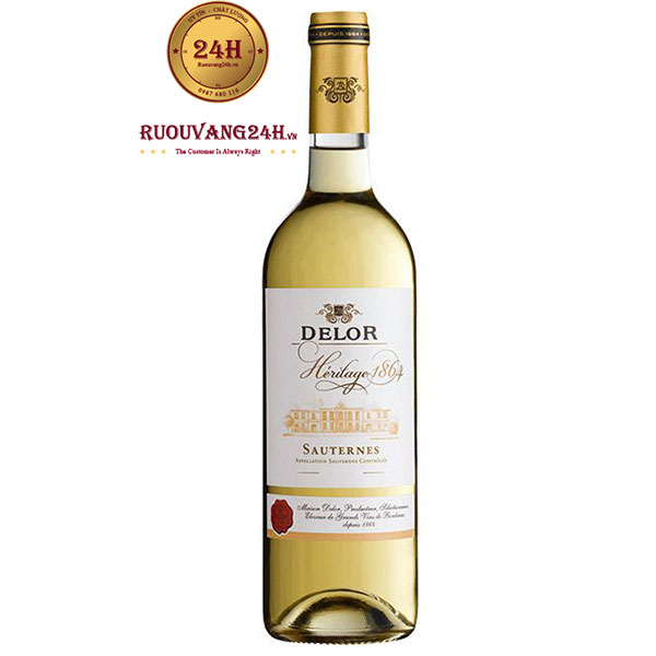 Rượu vang Delor Héritage 1864 Sauternet