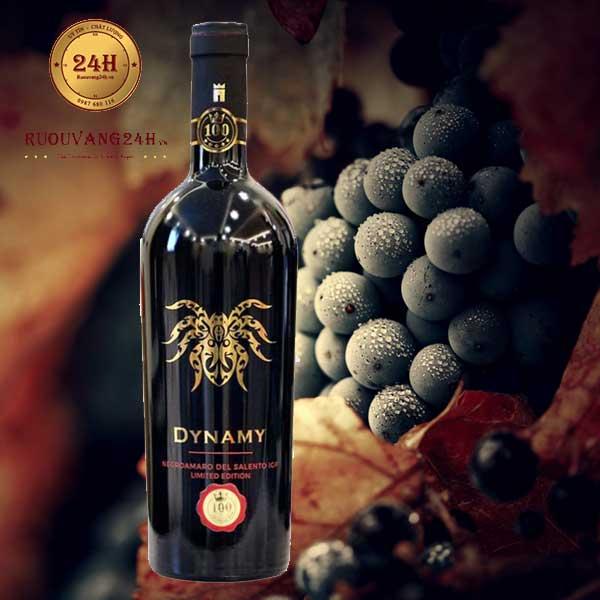 Rượu vang Dynamy Negroamaro Del Salento