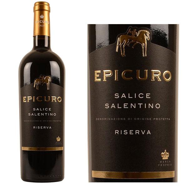 Rượu vang Epicuro Salice Salentino Rosso Riserva