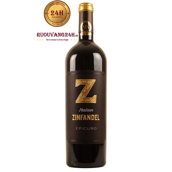 Rượu Vang Epicuro Zinfandel I.G.P Annata