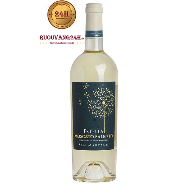 Rượu vang Estella Moscato Salento – Chất lượng tuyệt hảo!