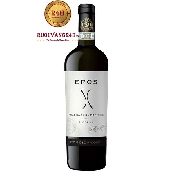 Rượu Vang Frascati Superiore Epos Riserva