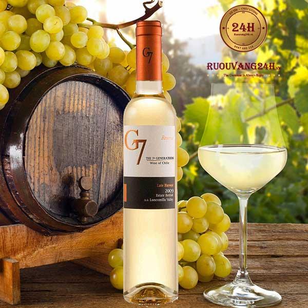 Rượu vang G7 Late Harvest