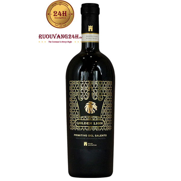 Rượu Vang Golden Lion Primitivo Del Salento