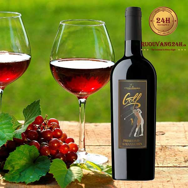 Rượu vang Golf Primitivo Di Manduria Le Vigne Di Sammarco
