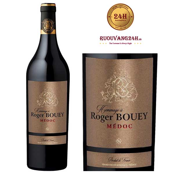 Rượu vang Hommage a Roger Bouey