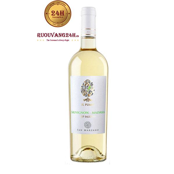 Rượu vang IL Pumo Sauvignon Malvasia