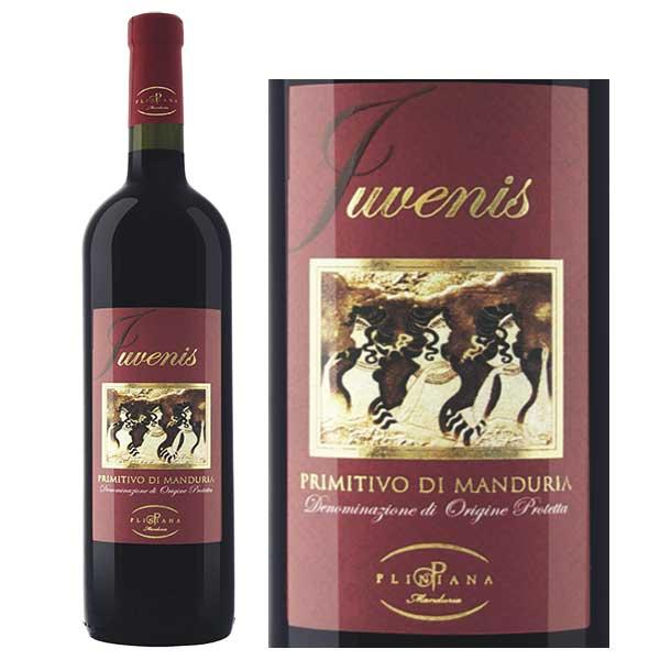 Rượu vang Juvenis Primitivo di Manduria D.O.P