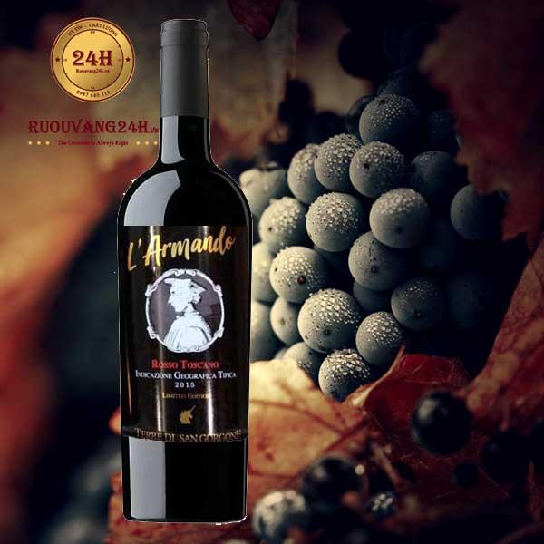 Rượu vang L'ARMANDO Rosso Toscano Limited Edition