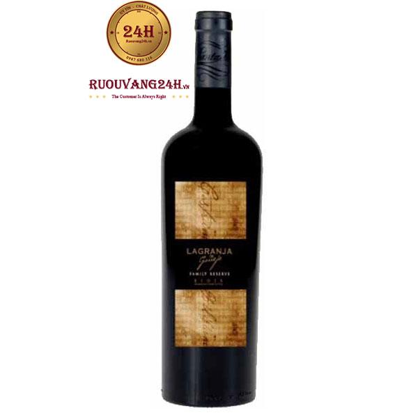 Rượu vang Lagranja Family Reserve