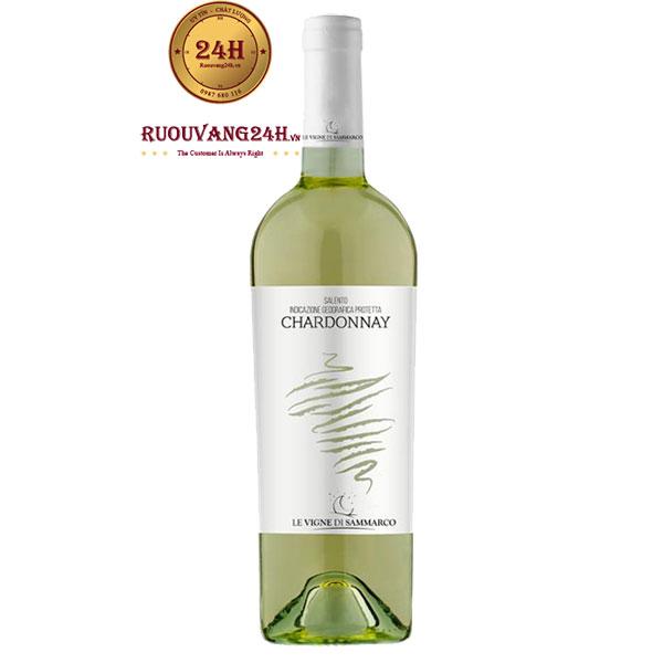 Rượu vang Le Vigne Di Sammarco Chardonnay Bianco Salento