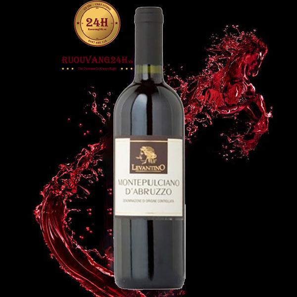 Rượu vang Levatino Montepulciano D'Abruzzo Cantine Di Marco