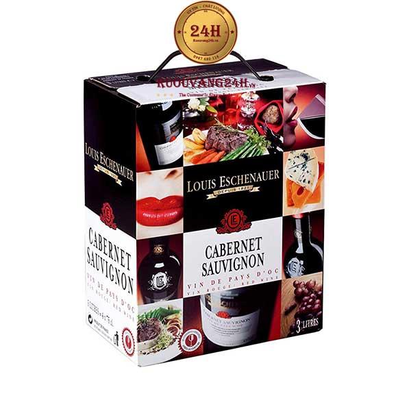 Rượu vang Louis Eschenauer Cabernet Sauvignon 3L
