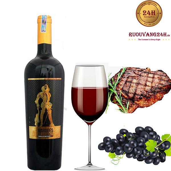 Rượu vang Marques De Tejares