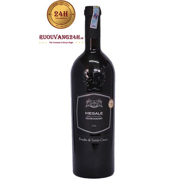 Rượu Vang Megale Negroamaro Feudo Di Santa Croce