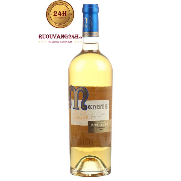 Rượu vang Menuts Moelleux