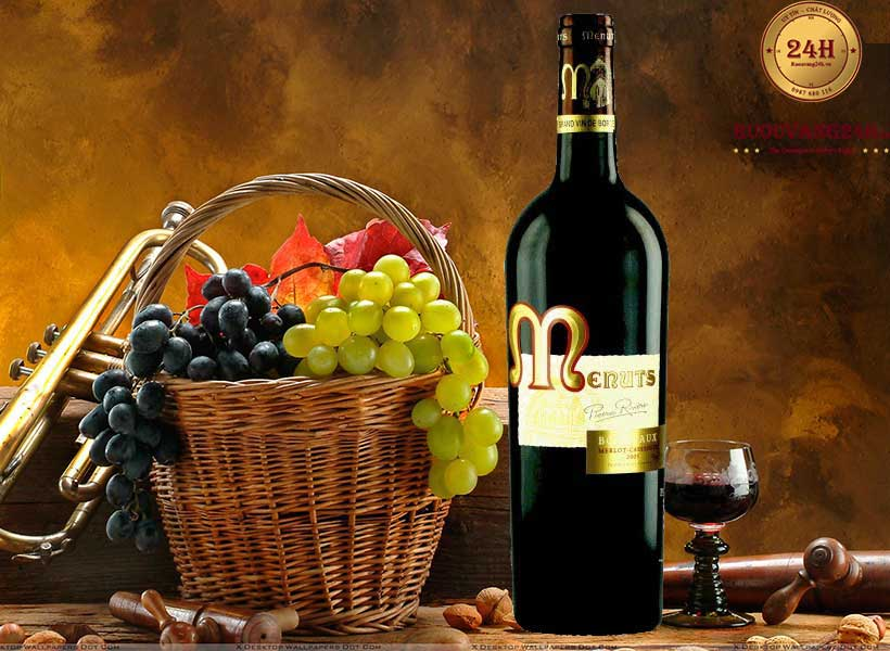 Rượu vang Menuts (Red)