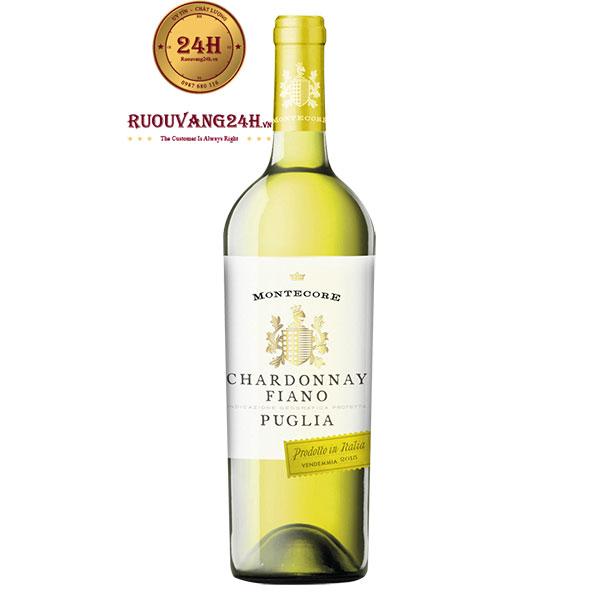 Rượu vang Montecore Chardonnay-Fiano I.G.P