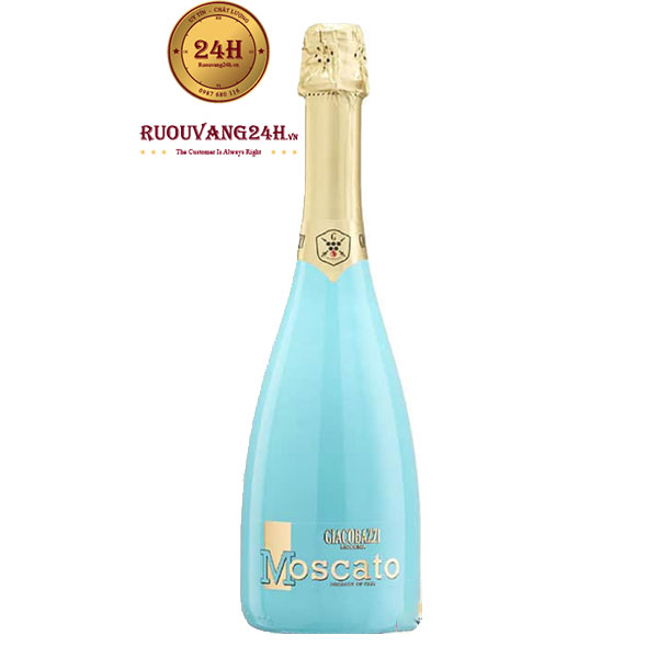 Rượu Vang Moscato Bianco Sparkling Blue