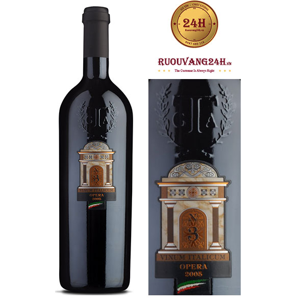 Rượu Vang N3 Opera Vinum Italicum